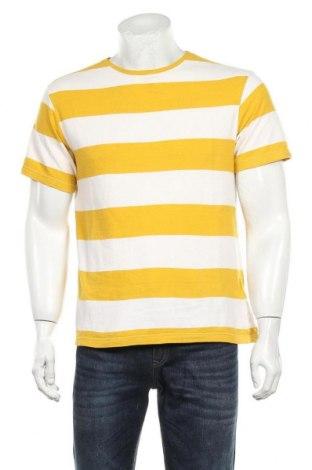 Мъжка тениска Reserved, Размер S, Цвят Жълт, Памук, Цена 11,70лв.