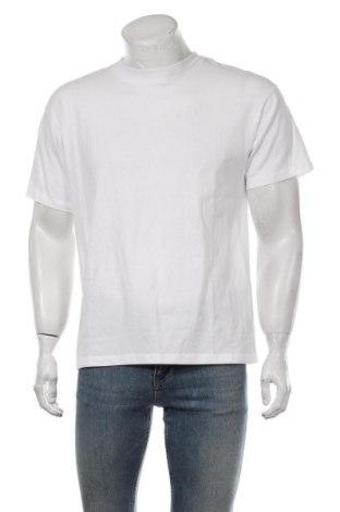 Мъжка тениска Sandro, Размер M, Цвят Бял, 100% памук, Цена 66,75лв.