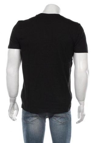 Мъжка тениска Schott, Размер L, Цвят Черен, Памук, Цена 45,82лв.