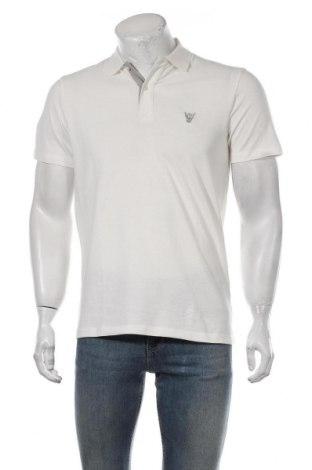 Мъжка тениска Selected Homme, Размер S, Цвят Бял, Памук, Цена 24,36лв.