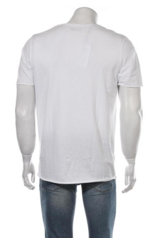 Мъжка тениска Selected Homme, Размер M, Цвят Бял, 100% памук, Цена 24,36лв.