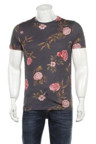 Мъжка тениска Selected Homme, Размер M, Цвят Многоцветен, Памук, Цена 15,75лв.