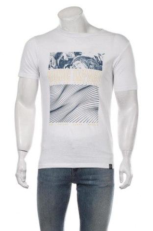 Мъжка тениска Shine Original, Размер M, Цвят Бял, Памук, Цена 16,82лв.