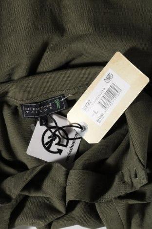Мъжка тениска Sir Raymond Tailor, Размер L, Цвят Зелен, Памук, Цена 45,82лв.