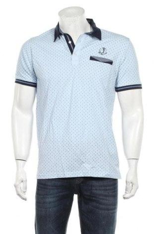 Мъжка тениска Sir Raymond Tailor, Размер M, Цвят Син, Памук, Цена 53,40лв.