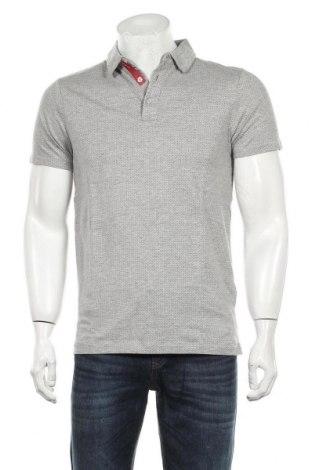Мъжка тениска Springfield, Размер M, Цвят Сив, 90% памук, 10% вискоза, Цена 17,40лв.