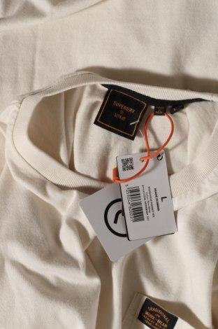 Мъжка тениска Superdry, Размер L, Цвят Екрю, Памук, Цена 33,12лв.