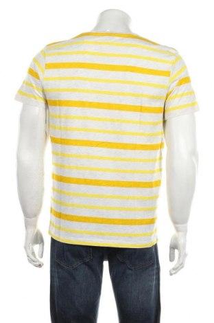 Мъжка тениска Tom Tailor, Размер M, Цвят Сив, 99% памук, 1% вискоза, Цена 25,30лв.