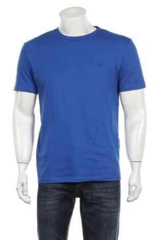 Мъжка тениска Tom Tailor, Размер L, Цвят Син, 90% памук, 10% полиестер, Цена 29,25лв.