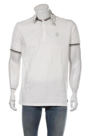 Tricou de bărbați Tom Tailor, Mărime L, Culoare Alb, Bumbac, Preț 67,70 Lei