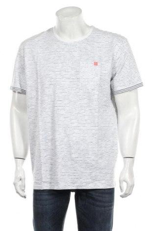 Tricou de bărbați Tom Tailor, Mărime XL, Culoare Alb, Bumbac, Preț 63,55 Lei