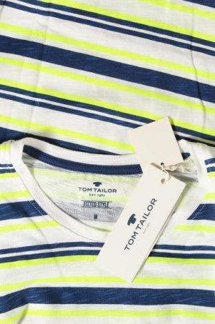 Мъжка тениска Tom Tailor, Размер M, Цвят Многоцветен, Памук, Цена 21,60лв.