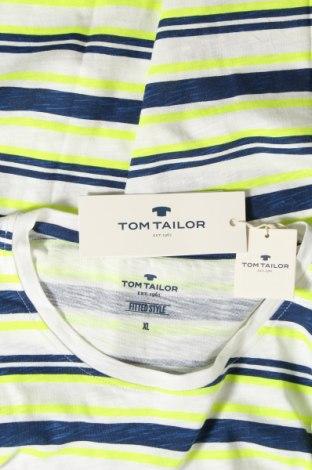 Мъжка тениска Tom Tailor, Размер XL, Цвят Многоцветен, Памук, Цена 21,60лв.