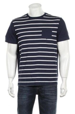Мъжка тениска Tommy Hilfiger, Размер L, Цвят Син, Памук, Цена 33,75лв.