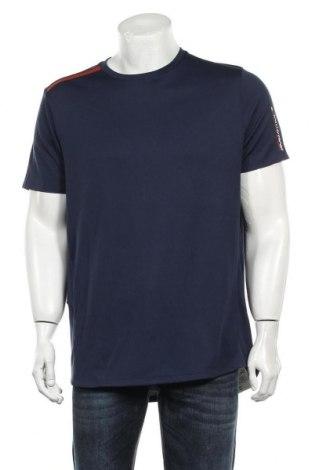 Мъжка тениска Tommy Hilfiger, Размер L, Цвят Син, Полиестер, Цена 47,40лв.