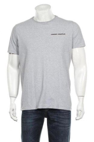 Мъжка тениска Under Armour, Размер M, Цвят Сив, Цена 21,75лв.