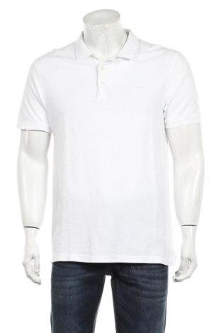 Мъжка тениска Zara, Размер L, Цвят Бял, Памук, Цена 13,00лв.