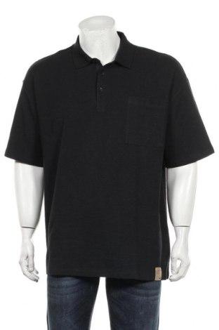 Мъжка тениска Zara, Размер L, Цвят Черен, Памук, Цена 19,60лв.