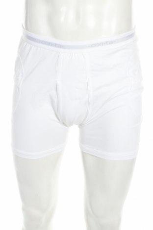 Мъжки боксерки, Размер XL, Цвят Бял, 92% памук, 8% еластан, Цена 23,52лв.
