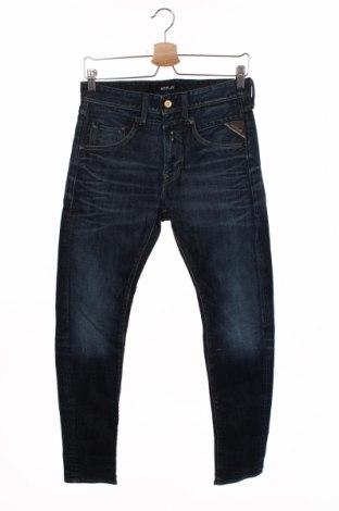 Blugi de bărbați Replay, Mărime S, Culoare Albastru, 98% bumbac, 2% elastan, Preț 128,29 Lei