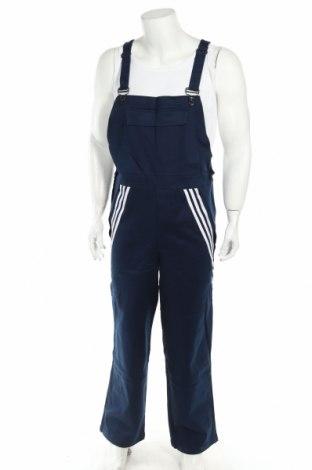 Мъжки гащеризон Adidas, Размер M, Цвят Син, 98% памук, 2% еластан, Цена 56,62лв.