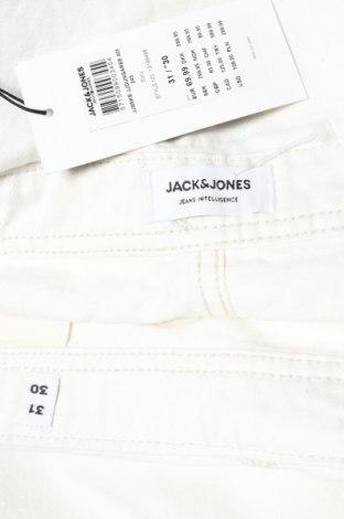 Мъжки гащеризон Jack & Jones, Размер L, Цвят Екрю, Памук, Цена 43,86лв.