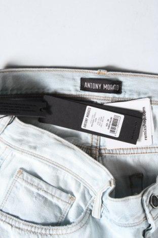 Мъжки къс панталон Antony Morato, Размер L, Цвят Син, Памук, Цена 54,45лв.