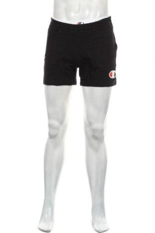Мъжки къс панталон Champion, Размер M, Цвят Черен, Памук, Цена 25,37лв.