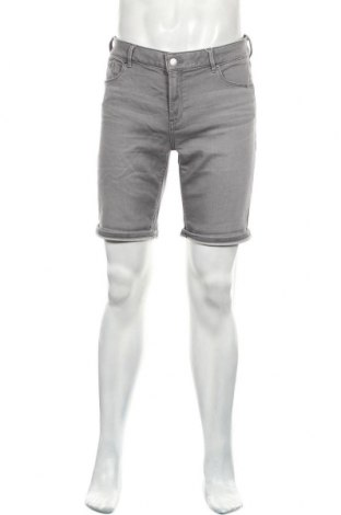 Мъжки къс панталон Esprit, Размер M, Цвят Сив, 86% памук, 13% полиестер, 1% еластан, Цена 45,82лв.