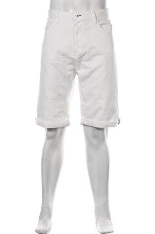 Мъжки къс панталон Indicode, Размер XXL, Цвят Бял, 80% памук, 19% полиестер, 1% еластан, Цена 54,00лв.