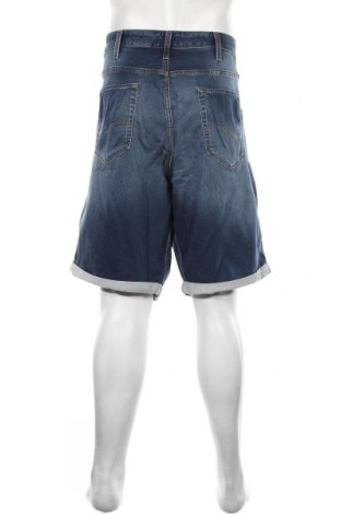 Мъжки къс панталон Jack & Jones, Размер 4XL, Цвят Син, 77% памук, 22% полиестер, 1% еластан, Цена 41,40лв.