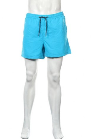 Мъжки къс панталон Jack & Jones, Размер L, Цвят Син, Полиестер, Цена 28,32лв.