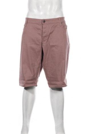 Мъжки къс панталон Jack & Jones, Размер XXL, Цвят Розов, 98% памук, 2% еластан, Цена 35,40лв.