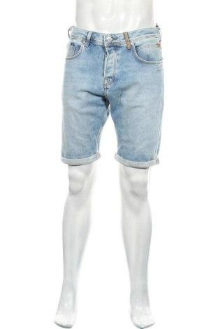 Мъжки къс панталон Ltb, Размер L, Цвят Син, 99% памук, 1% еластан, Цена 51,75лв.