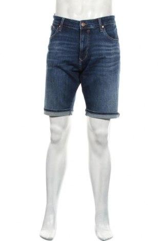 Мъжки къс панталон Mavi, Размер L, Цвят Син, 98% памук, 2% еластан, Цена 48,95лв.