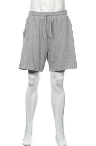 Мъжки къс панталон NU-IN, Размер XL, Цвят Сив, Памук, Цена 32,45лв.