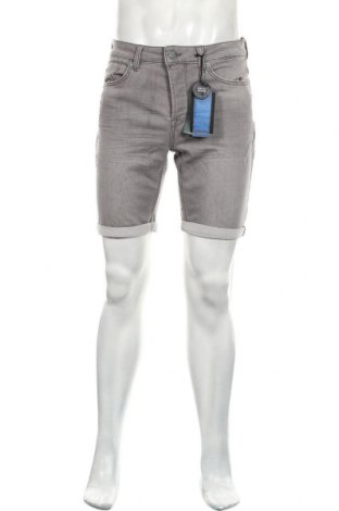 Мъжки къс панталон Only & Sons, Размер L, Цвят Сив, 75% памук, 24% полиестер, 1% еластан, Цена 30,16лв.