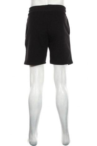 Мъжки къс панталон River Island, Размер M, Цвят Черен, 67% памук, 33% полиестер, Цена 39,60лв.