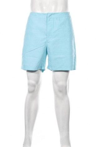 Мъжки къс панталон Tbs, Размер L, Цвят Син, Полиестер, Цена 47,40лв.