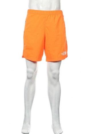 Мъжки къс панталон The North Face, Размер M, Цвят Оранжев, 100% полиестер, Цена 40,02лв.
