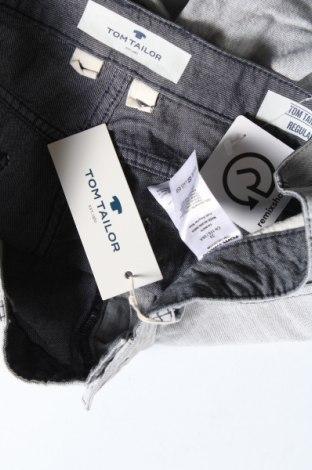 Мъжки къс панталон Tom Tailor, Размер L, Цвят Сив, Памук, Цена 37,95лв.
