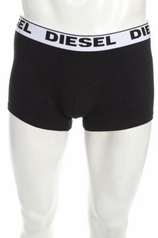 Мъжки комплект Diesel, Размер XL, Цвят Черен, 95% памук, 5% еластан, Цена 34,10лв.