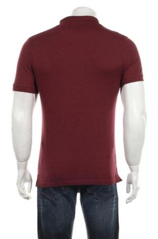 Мъжка тениска Lyle & Scott, Размер S, Цвят Червен, 98% памук, 2% еластан, Цена 37,95лв.