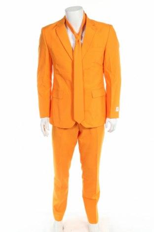 Costum de bărbați Oppo Suits, Mărime L, Culoare Portocaliu, Poliester, Preț 239,05 Lei
