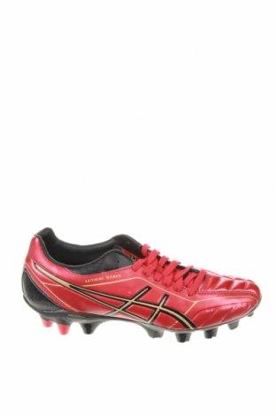 Мъжки обувки ASICS, Размер 42, Цвят Червен, Еко кожа, Цена 57,12лв.