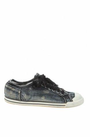 Мъжки обувки Diesel Black Gold, Размер 41, Цвят Син, Текстил, Цена 88,00лв.