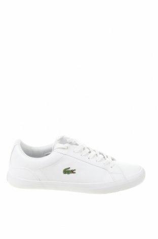 Мъжки обувки Lacoste, Размер 41, Цвят Бял, Еко кожа, Цена 83,60лв.
