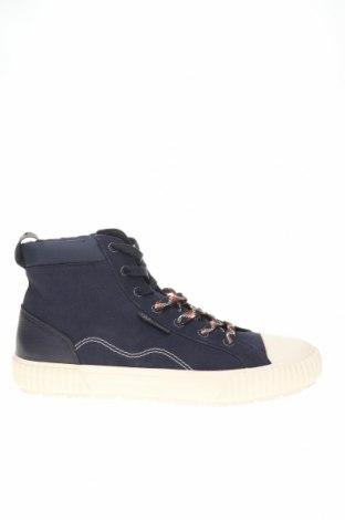 Ανδρικά παπούτσια Lyle & Scott, Μέγεθος 44, Χρώμα Μπλέ, Φυσικό σουέτ, γνήσιο δέρμα, κλωστοϋφαντουργικά προϊόντα, Τιμή 32,78€