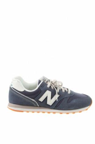 Încălțăminte bărbătească New Balance, Mărime 43, Culoare Albastru, Piele naturală, textil, Preț 404,11 Lei