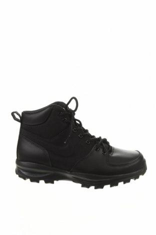 Мъжки обувки Nike, Размер 42, Цвят Черен, Естествена кожа, еко кожа, Цена 164,25лв.